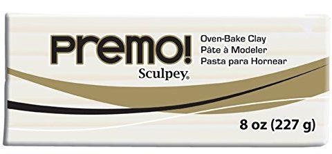 Premo Sculpey Polymer Clay 8oz, White