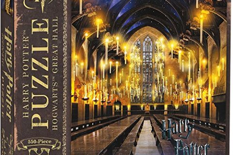 USAopoly PZ010-484 Harry Potter Great Hall Puzzle, Multicolor