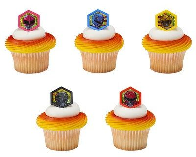 24 pc – Power Rangers Morphinominal Cupcake Rings