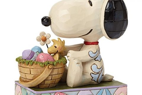 Snoopy Hooray For The Easter Beagle figurine Jim Shore NEW 4042382 Peanuts