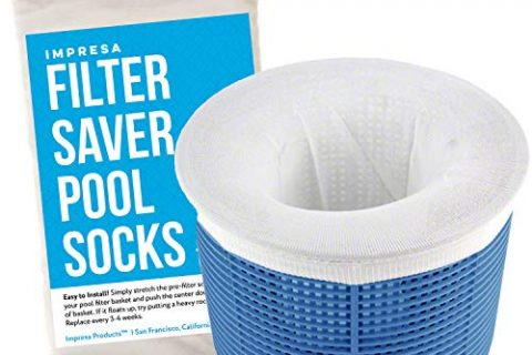 Impresa Products 20-Pack of Pool Skimmer Socks – Perfect Savers for Filters, Baskets, and Skimmers