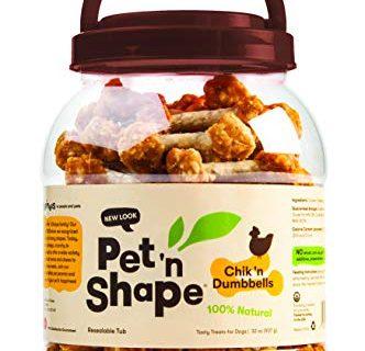 Pet 'n Shape Chik 'n Dumbbells 32 oz