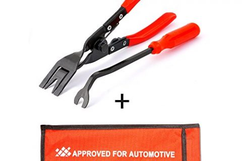 AFA Tooling 2 Pcs Clip Plier Set & Fastener Remover- The Most Essential Combo Repair Kit