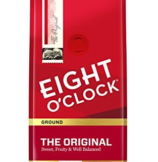 Eight O'Clock Ground Coffee, The Original, 12 Ounce Pack of 6