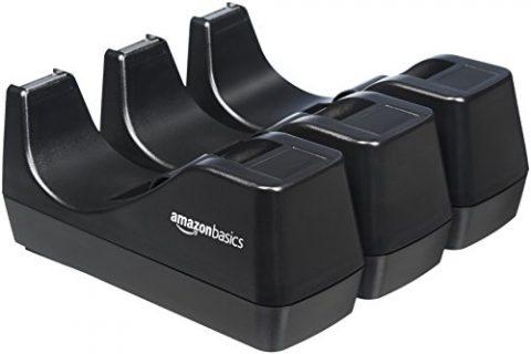 3-Pack – AmazonBasics Office Desk Tape Dispenser