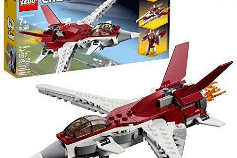 LEGO Creator 3in1 Futuristic Flyer 31086 Building Kit , New 2019 157 Piece