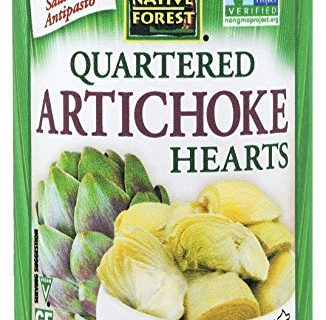 Native Forest Artichoke Hearts Quartered, 14 Ounce Cans Pack of 6