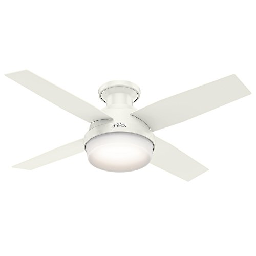 Top 10 Dempsey Low Profile with Light 44 Inch Grey Oak – Ceiling Fans