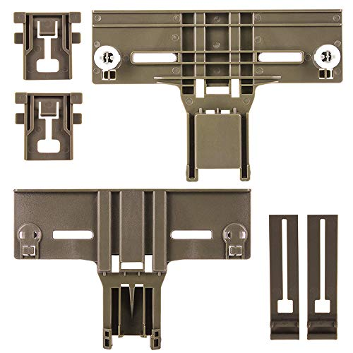 Top 10 kenmore elite Dishwasher Top Rack Parts W10712394 – Dishwasher Replacement Baskets