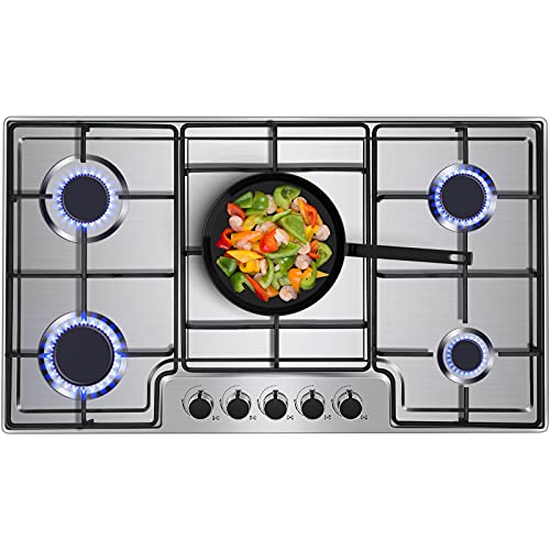 Top 10 Countertop Stove Gas 36 Inch – Cooktops