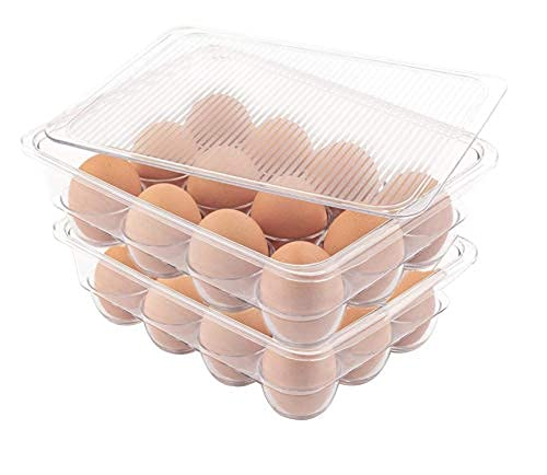 Top 10 Fridge Containers for Organizing Large – Refrigerator Egg Trays