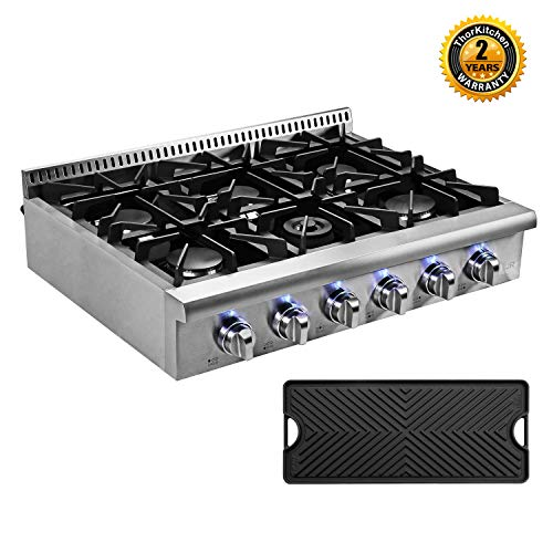 Top 8 Gas Cooktop with Griddle – Cooktops