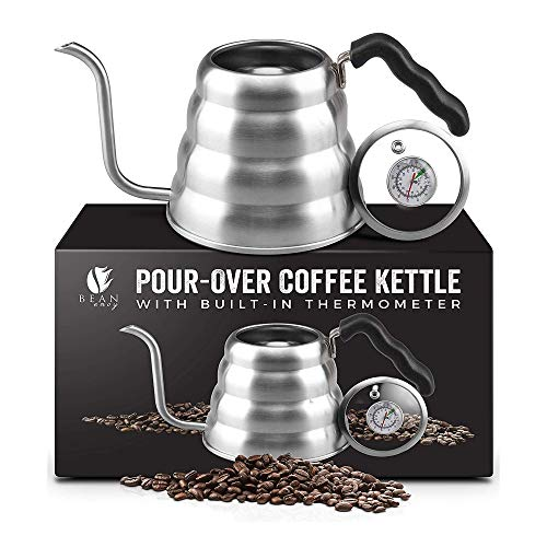 Top 10 Bonavita Pour Over Kettle with Thermometer – Tea Kettles