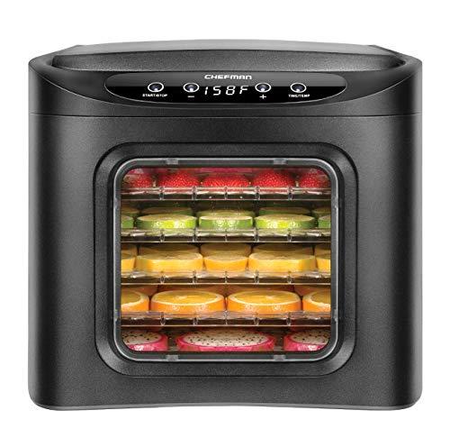 Top 10 Chefman Food Dehydrator Machine 6 Tray BPA Free – Dehydrators