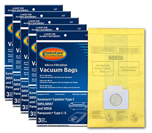 Top 9 Sweeper Bags Kenmore 5055 – Replacement Canister Vacuum Bags