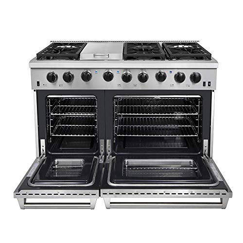 Top 9 Double Oven Gas Range Black Stainless – Freestanding Ranges