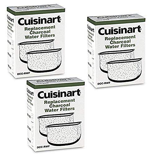 Top 10 Cuisinart Replacement Charcoal Water Filters DCC-RWF – Disposable Coffee Filters