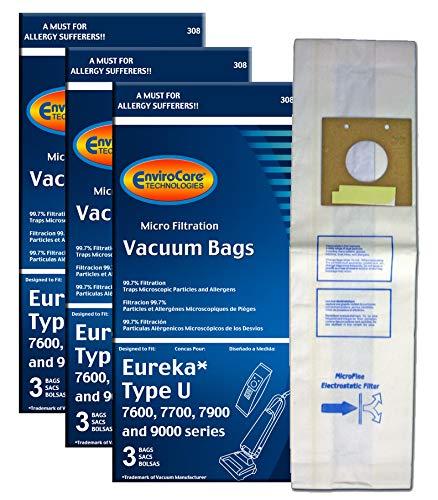 Top 5 Eureka U Vacuum Bags – Replacement Canister Vacuum Bags