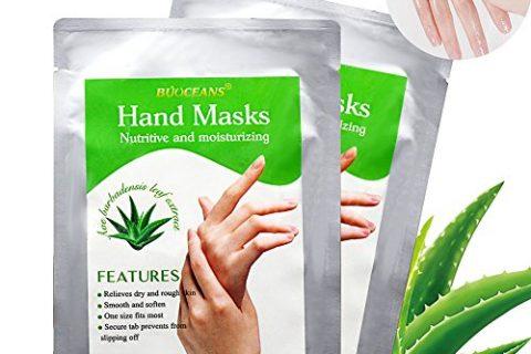 Moisturizing Gloves, Hand Peel Mask, Hand Mask, Spa Gloves Moisture Enhancing Gloves for Dry Hands, Exfoliating Hand Peeling Mask, Repair Rough Skin for Men Women, 2 pairs
