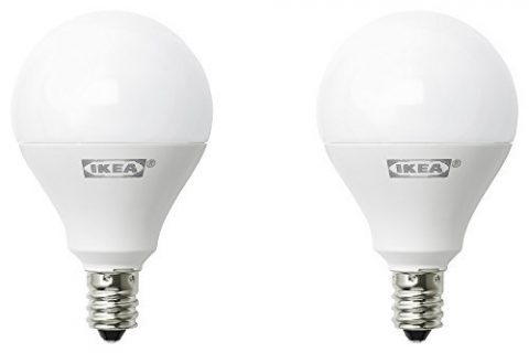Pack of 2 – Ikea E12 400 Lumen LED Light Bulb 5 Watt